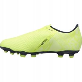 Buty piłkarskie Nike Phantom Venom Academy Fg Junior AO0362 717 żółte żółte 1