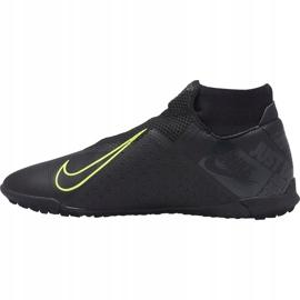 Buty piłkarskie Nike Phantom Vsn Academy Df Tf AO3269 007 czarne czarne 1