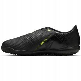 Buty piłkarskie Nike Phantom Venom Academy Tf Junior AO0377 007 czarne wielokolorowe 1