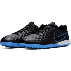 Buty piłkarskie Nike Tiempo Legend 8 Academy Tf Junior AT5736 004 czarne czarne 3