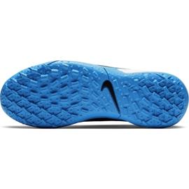 Buty piłkarskie Nike Tiempo Legend 8 Academy Tf Junior AT5736 004 czarne czarne 4