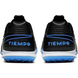 Buty piłkarskie Nike Tiempo Legend 8 Academy Tf Junior AT5736 004 czarne czarne 5
