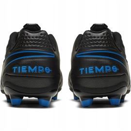 Buty piłkarskie Nike Tiempo Legend 8 Academy FG/MG Junior AT5732 004 czarne czarne 4