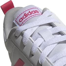 Buty dla dzieci adidas Tensaur K biało-różowe EF1088 białe 4