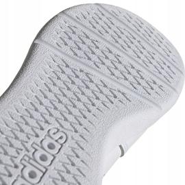 Buty dla dzieci adidas Tensaur K biało-różowe EF1088 białe 5