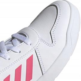 Buty dla dzieci adidas Tensaur K biało-różowe EF1088 białe 3