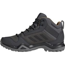 Buty męskie adidas Terrex AX3 Mid Gtx szare BC0468 1