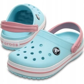 Crocs dla dzieci Crocband Clog K jasny niebieski 204537 4S3 niebieskie 3
