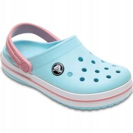 Crocs dla dzieci Crocband Clog K jasny niebieski 204537 4S3 niebieskie 2