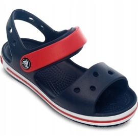 Crocs sandały dla dzieci Crocband Sandal Kids granatowo czerwone 12856 485 granatowe 3