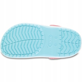 Crocs dla dzieci Crocband Clog K jasny niebieski 204537 4S3 niebieskie 5