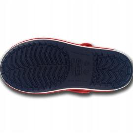 Crocs sandały dla dzieci Crocband Sandal Kids granatowo czerwone 12856 485 granatowe 5