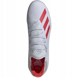 Buty piłkarskie adidas X 19.3 Tf srebrne F35374 wielokolorowe szare 2