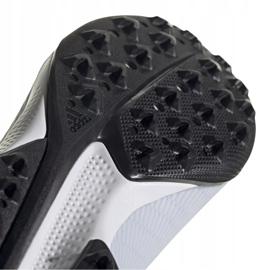 Buty piłkarskie adidas X 19.3 Tf srebrne F35374 wielokolorowe szare 6