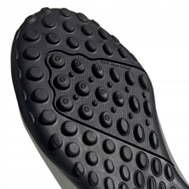 Buty piłkarskie adidas X 19.4 Tf Jr srebrne F35348 srebrny czerwone 5