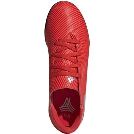 Buty piłkarskie adidas Nemeziz 19.4 Tf Jr czerwone F99935 1
