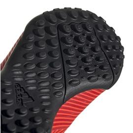 Buty piłkarskie adidas Nemeziz 19.4 Tf Jr czerwone F99935 5