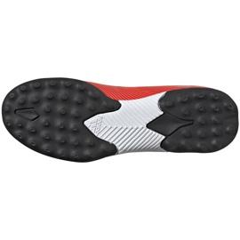 Buty piłkarskie adidas Nemeziz 19.3 Tf Jr czerwone F99941 6