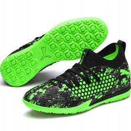 Buty piłkarskie Puma Future 19.3 Netfit Tt 105542 03 zielone wielokolorowe 5