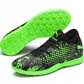 Buty piłkarskie Puma Future 19.4 Tt 105548 03 wielokolorowe zielone 5