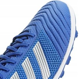 Buty piłkarskie adidas Predator 19.3 Tf niebieskie BB9084 wielokolorowe 1