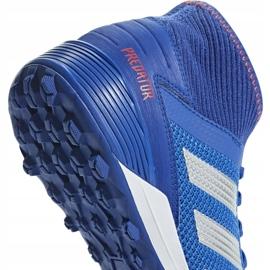 Buty piłkarskie adidas Predator 19.3 Tf niebieskie BB9084 wielokolorowe 2
