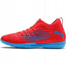 Buty piłkarskie Puma Future 19.3 Netfit Tt 105542 01 czerwone czerwone 2