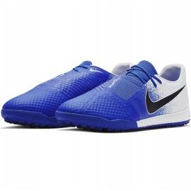 Buty piłkarskie Nike Phantom Venom Academy Tf AO0571 104 niebieskie wielokolorowe 3