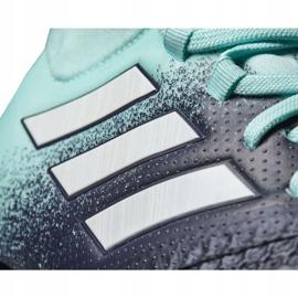 Buty piłkarskie adidas Ace 17.1 Fg Jr S77040 niebieskie niebieskie 4