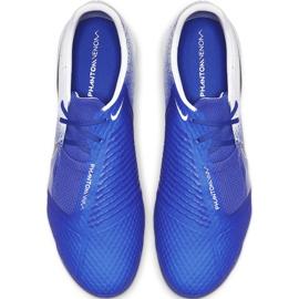 Buty piłkarskie Nike Phantom Venom Academy Tf AO0571 104 niebieskie wielokolorowe 2