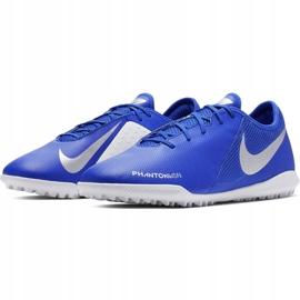 Buty piłkarskie Nike Phantom Vsn Academy Tf AO3223 410 niebieskie wielokolorowe 4