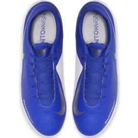 Buty piłkarskie Nike Phantom Vsn Academy Tf AO3223 410 niebieskie wielokolorowe 1