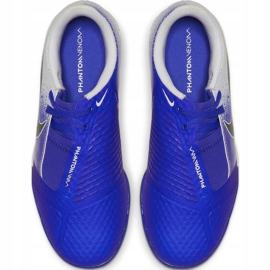Buty piłkarskie Nike Phantom Venom Academy Tf Jr AO0377 104 wielokolorowe niebieskie 2