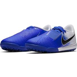 Buty piłkarskie Nike Phantom Venom Academy Tf Jr AO0377 104 wielokolorowe niebieskie 3
