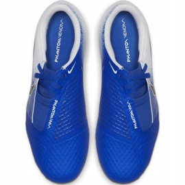 Buty piłkarskie Nike Phanton Venom Academy Fg Jr AO0362 104 niebieskie wielokolorowe 2