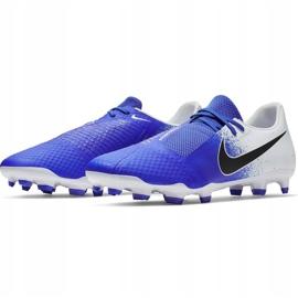 Buty piłkarskie Nike Phantom Venom Academy Fg AO0566 104 wielokolorowe niebieskie 3