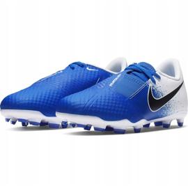 Buty piłkarskie Nike Phanton Venom Academy Fg Jr AO0362 104 niebieskie wielokolorowe 3