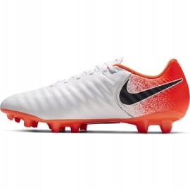 Buty piłkarskie Nike Tiempo Legend 7 Academy Fg AH7242 118 białe wielokolorowe 1