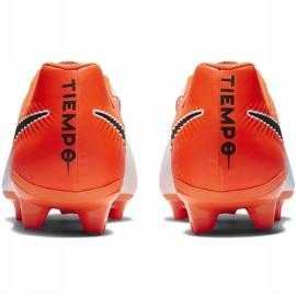 Buty piłkarskie Nike Tiempo Legend 7 Academy Fg AH7242 118 białe wielokolorowe 4