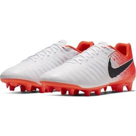 Buty piłkarskie Nike Tiempo Legend 7 Academy Fg AH7242 118 białe wielokolorowe 3