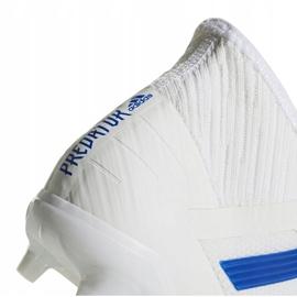 Buty piłkarskie adidas Predator 19.2 Fg D97941 wielokolorowe białe 4