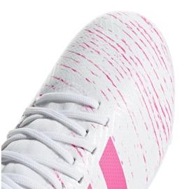 Buty piłkarskie adidas Nemeziz 18.3 Fg Jr CM8506 wielokolorowe białe 3