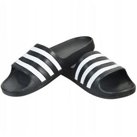 Klapki dla dzieci adidas Adilette Aqua K czarne F35556 1