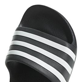 Klapki dla dzieci adidas Adilette Aqua K czarne F35556 5