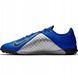 Buty piłkarskie Nike Phantom Vsn Academy Tf AO3223 400 niebieskie niebieskie 2