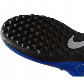 Buty piłkarskie Nike Phantom Vsn Club Df Tf Jr AO3294 400 niebieskie wielokolorowe 5