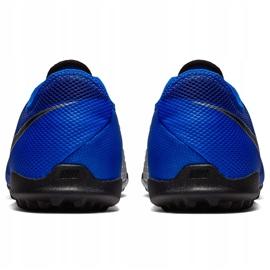 Buty piłkarskie Nike Phantom Vsn Academy Tf AO3223 400 niebieskie niebieskie 4
