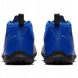 Buty piłkarskie Nike Phantom Vsn Club Df Tf Jr AO3294 400 niebieskie wielokolorowe 4
