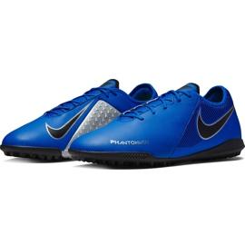 Buty piłkarskie Nike Phantom Vsn Academy Tf AO3223 400 niebieskie niebieskie 3