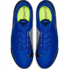 Buty piłkarskie Nike Phantom Vsn Academy Tf AO3223 400 niebieskie niebieskie 1